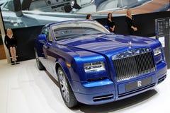 2 coupe φανταστική Rolls-$l*royce serie Στοκ Εικόνες