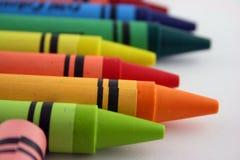 2 crayons Стоковое Изображение