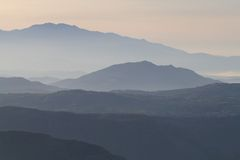 2 crete berglandskap Royaltyfri Fotografi