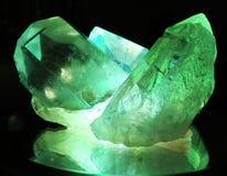 2 cristal Στοκ Εικόνα