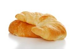 2 croissants DOF ont isolé des roulis peu profonds Image libre de droits