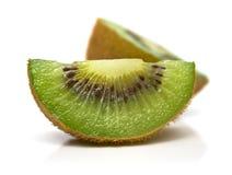 2 cuted kiwi Royaltyfri Fotografi