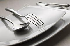 2 cutlery Zdjęcie Royalty Free