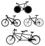 2 cyklar Royaltyfri Fotografi