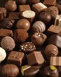 2 czekoladki Zdjęcia Royalty Free