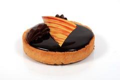 2 czekoladowe ciasto mały Zdjęcia Royalty Free