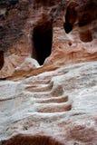 2 czerepu Jordan petra rzeźb kamień obraz royalty free