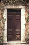 2 dörr france Arkivfoton
