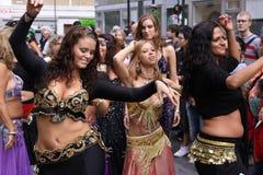 2 dansa drottningar Arkivfoto