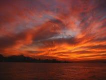 2 de janeiro rio horisont Royaltyfri Bild