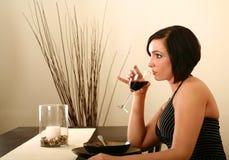 2 de jantar ocasionais Foto de Stock Royalty Free