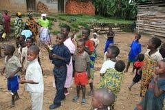 2 de noviembre de 2008. Refugiados de dr Congo Fotografía de archivo