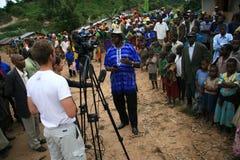2 de noviembre de 2008. Refugiados de dr Congo Fotos de archivo