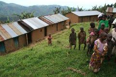 2 de noviembre de 2008. Refugiados de dr Congo Foto de archivo