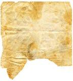2 de papier âgés (chemin compris) Images libres de droits