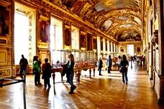 2 De Sala louvre magistrali palais Obrazy Stock
