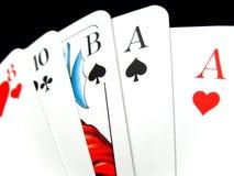 2 deck karty Zdjęcia Stock