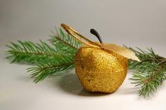 2 dekoracj nowy rok Zdjęcia Stock