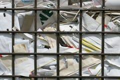 2 di riciclaggio di carta Fotografie Stock Libere da Diritti