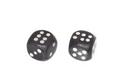 2 dices Стоковые Изображения RF
