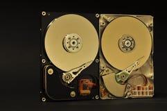 2 dischi rigidi Fotografie Stock Libere da Diritti