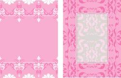 2 diseños de coordinación Imágenes de archivo libres de regalías