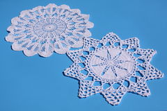 2  doilies Stock Photography