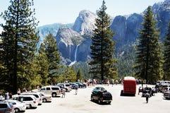 2 dolinę przegapiają Yosemite Fotografia Royalty Free