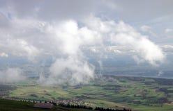 2 doliny widok Zdjęcia Stock
