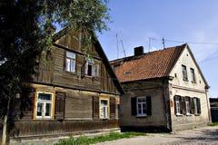 2 domów stary shine zdjęcie royalty free