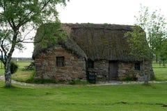 2 domku culloden leanach Scotland Fotografia Royalty Free