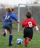 2 dostaje piłkę Fotografia Royalty Free