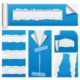 2 drzejący papierowy set royalty ilustracja