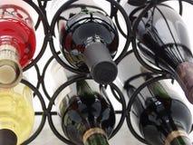 2 drzewostanów wino Obrazy Stock