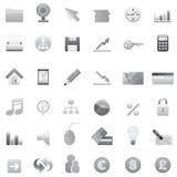 2 duży ikony ustawiają sieć ilustracja wektor
