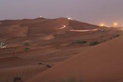 2 dubai dune Στοκ Εικόνα