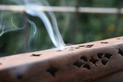 2 dym kadzidła Zdjęcia Royalty Free