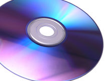 2 dysków dvd Fotografia Royalty Free