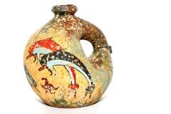 2 dzbanka repro starożytnych greków Obrazy Stock