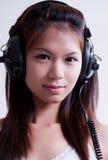 2 dziewczyn muzyka Obrazy Stock
