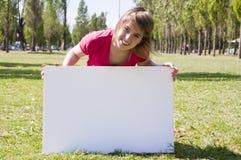 2 dziewczyn znak Zdjęcia Stock