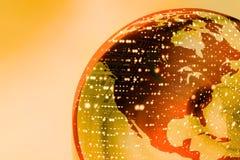 2 earth globe Στοκ φωτογραφίες με δικαίωμα ελεύθερης χρήσης