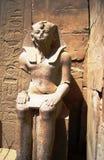 2 Egypt Luxor ramzes statuy świątynia Zdjęcia Stock