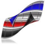 2 ekranowy film Obraz Royalty Free
