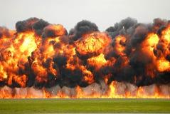 2 eksplozję obraz royalty free