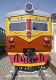 2 elektryczny stary pociąg Zdjęcie Stock