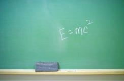 2 e等式mc2 库存图片