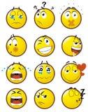 2 emoticons Zdjęcie Stock
