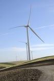 2 energetycznego gospodarstwa rolnego wiatr Obrazy Royalty Free