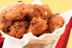 κοτόπουλο 2 που τηγανίζ&epsilon Στοκ Εικόνα